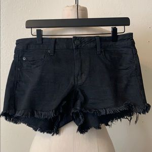 American Eagle Outfitters fringed shorts